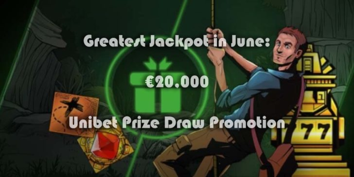 Unibet Casino Greatest Jackpot in June 2019