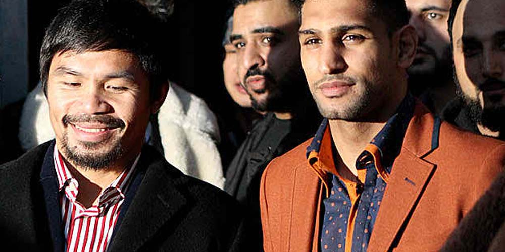 Amir Khan vs Neeraj Goyat Betting Odds