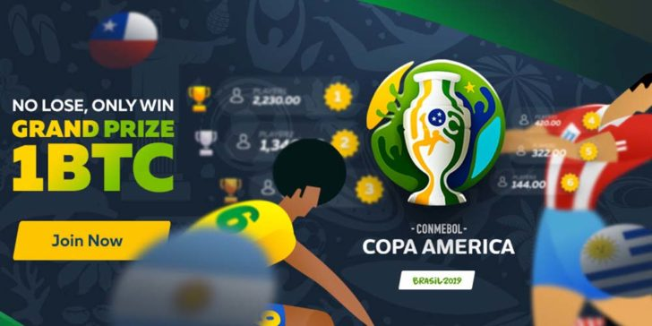 FortuneJack Sportsbook Copa America Tournament