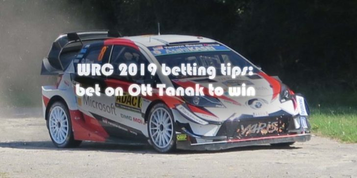 WRC 2019 Betting Tips: Ogier and Tanak Race for Championship
