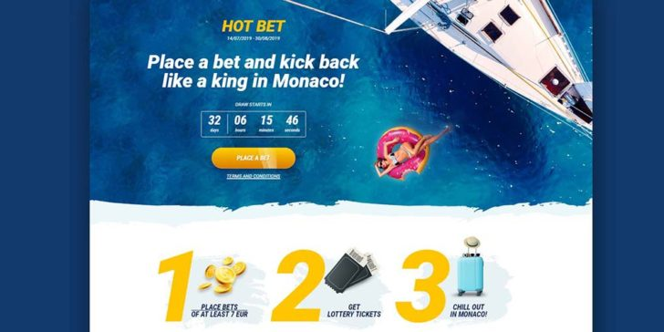 Win a VIP 12 Night Trip to Monaco And Much More Prizes at 1xBET Sportsbook