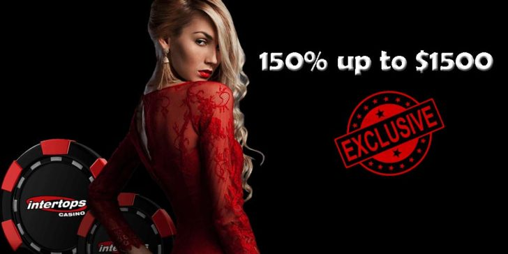 Intertops Casino Exclusive Bonus Offer: