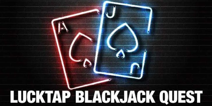 lucktap blackjack quest