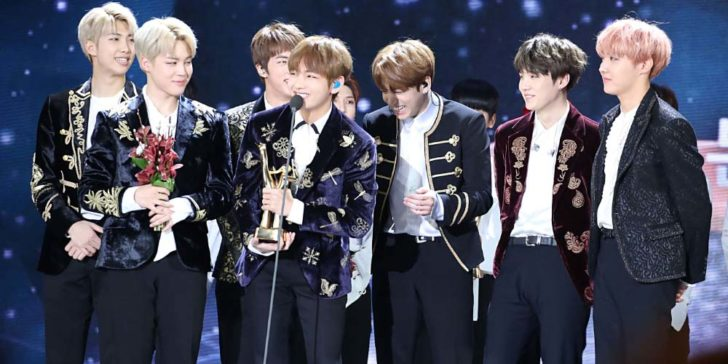 2019 MTV VMA for Best Collaboration BTS