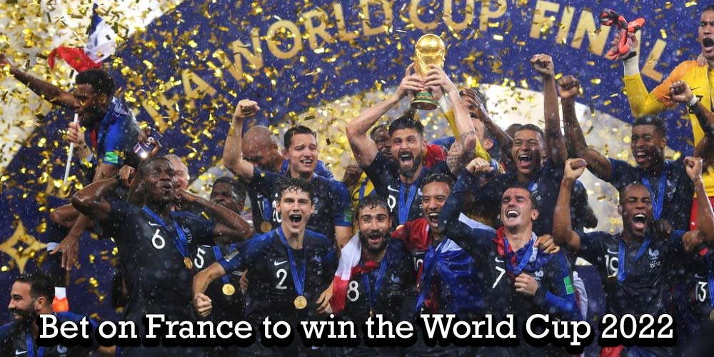 France as the champions of the FIFA World Cup 2018 tournament