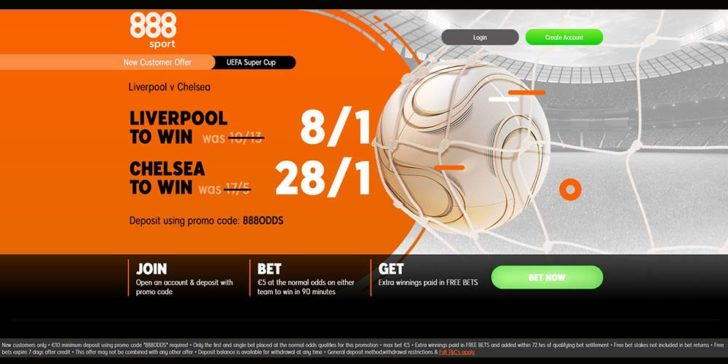 UEFA Super Cup Final enhanced odds