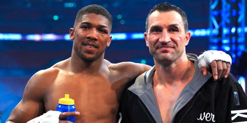 Anthony Joshua v Andy Ruiz Jr. rematch winner predictions Vladimir Klitschko