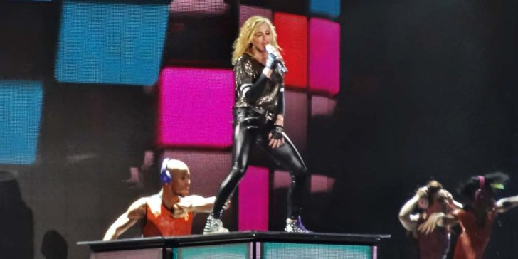 Madonna in Russia 2020