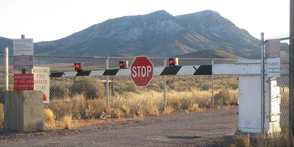 Area 51 Storm Predictions Stop Sign