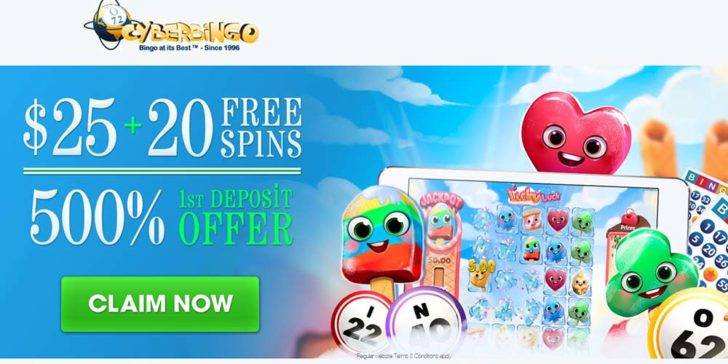 Exclusive CyberBingo Promotion