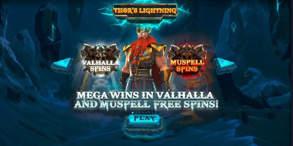 Daily Drop Jackpot Slot Thor's Lightning bgo Casino