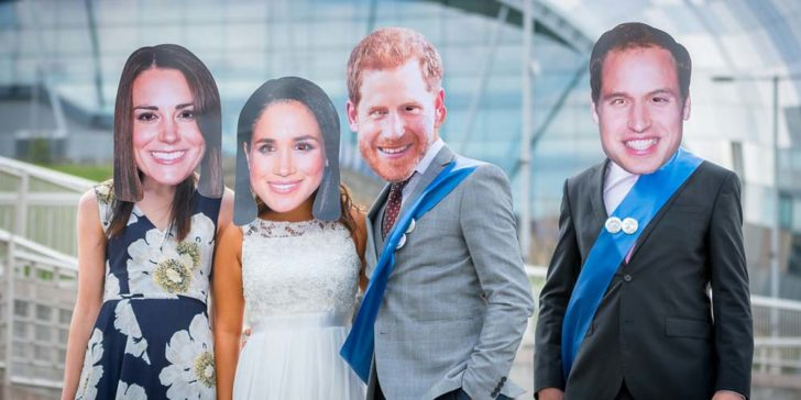 Royal Family Betting Odds Indicate a Double Wedding for Princes Louis and Archie