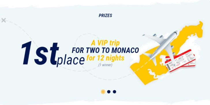 Win a Trip to Monaco for 2 1xBET Sportsbook Weekly Promotion