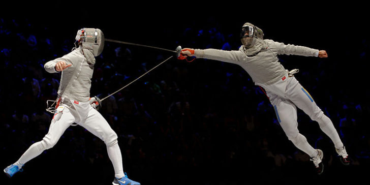 How to win a fencing duel