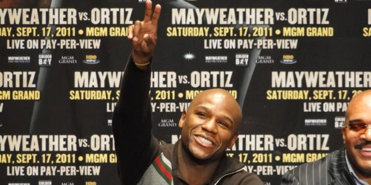Floys Mayweather Bankruptcy Predictions Smile Happy Face