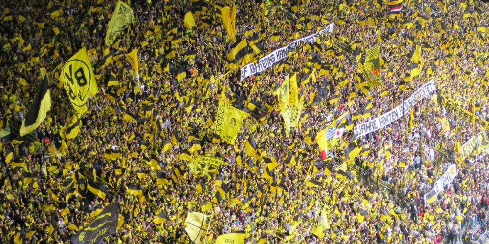 UEFA Champions League 2020 Signal Iduna Park Football Stadium Fans Dortmund vs Inter Betting Predictions BVB