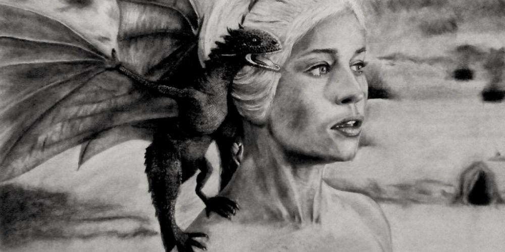 Daenerys Targaryan Pencil Drawn Art 2020 House of the Dragon Release Date Predictions Weird Bets Online Sportsbooks GamingZion 1xBET Online Gambling Novelty Bets Books Betting Game of Thrones Odds Series Betting HBO Spinoffs Release Date Bets Weirdest Betting Markets