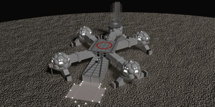 Make a Bet on Building a Moon Base