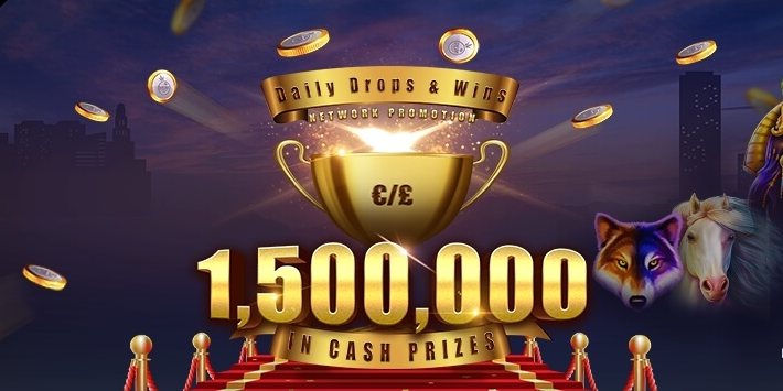 Daily Drops and Wins, free spins, megapari, Gamingzion, online casino, online slot, weekly prizes,