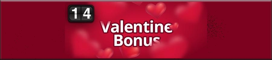 You can claim a 33% match bonus for Valentine's Day promotion at Omni Slots Casino