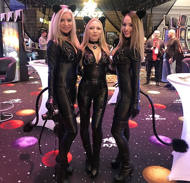 Sexy Outfits at ICE London, gamingzion.com, ICE London 2020, iGaming 2020, UK Gambling Commission, Partypoker, online gambling, online casino