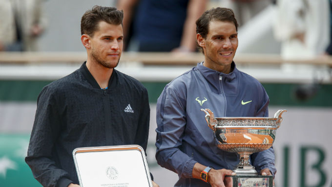 Can Dominic Thiem Beat Rafael Nadal?, Dominic Thiem, Rafael Nadal, French Open, Tennis, Grand Slam, tennis betting, online betting, online sportsbooks
