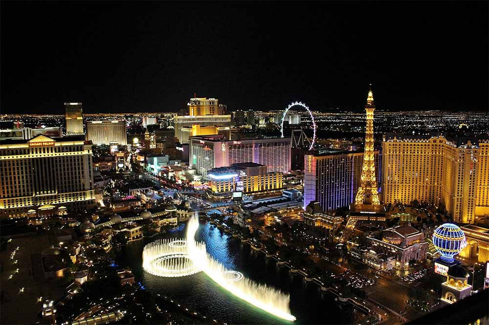 Las vegas is the gambling capital of the world