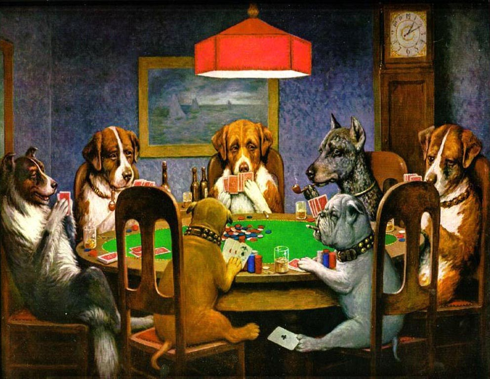 Gambling In Art was always a significant theme