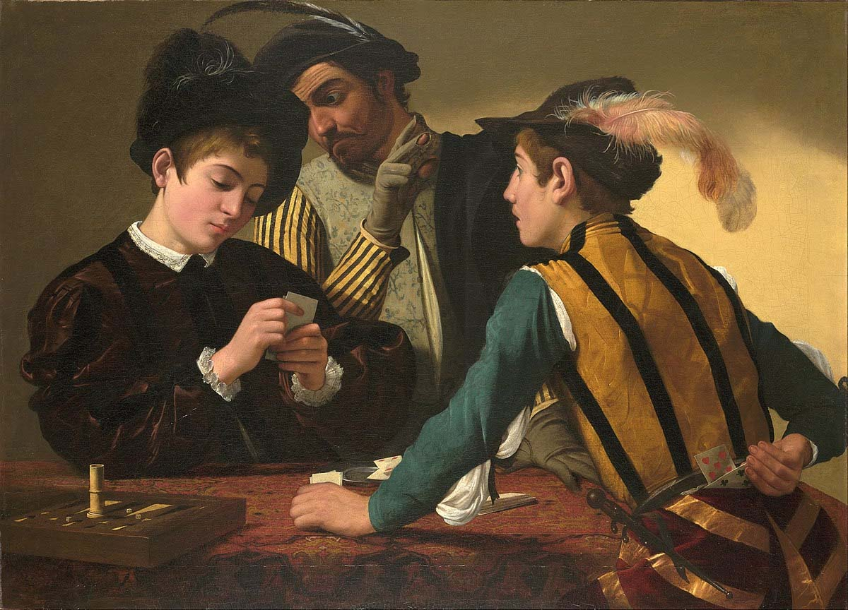 gambling in art is a significant theme