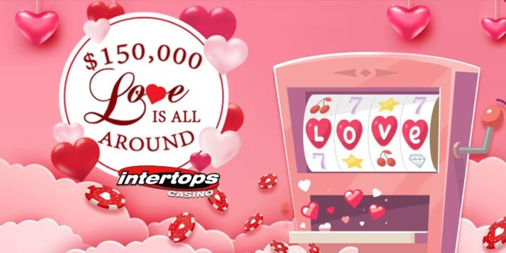 The Love Is All Around Contest At Intertops Casino Will Melt Your