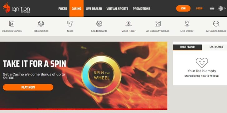 Review about Ignition Casino