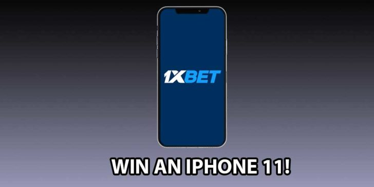 Are You Dreaming About An Iphone? The Time Has Come, Win an Iphone 11 Pro With 1xbet