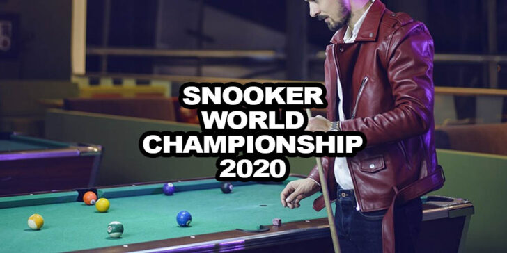Snooker World Championship 2020 odds