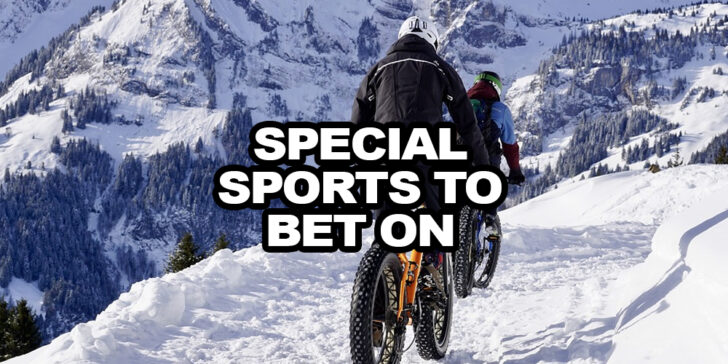special sports you can bet on