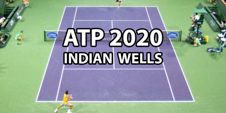 ATP Indian Wells 2020 betting odds