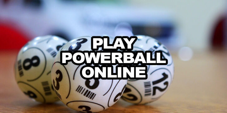 how to play Powerball online