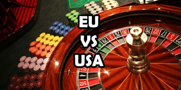 European and American roulette