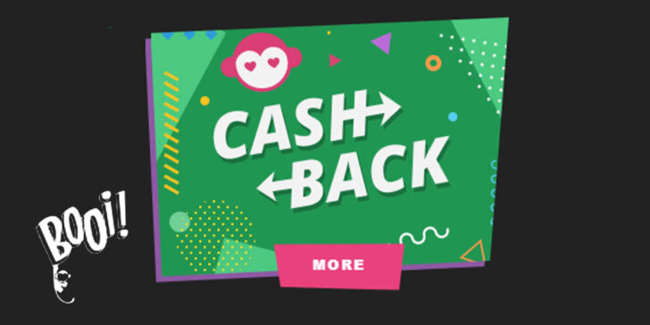 Booi Casino Cashback Offer
