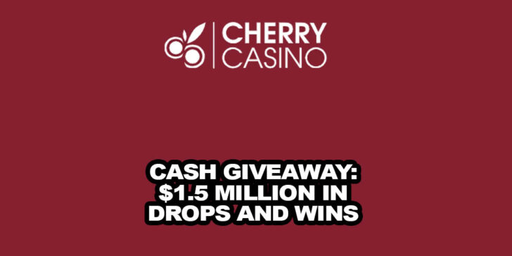 Online Casino Cash Giveaway. €1.5 Million in Drops and Wins.