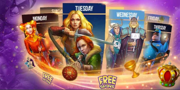 daily 1xBET Casino free spins