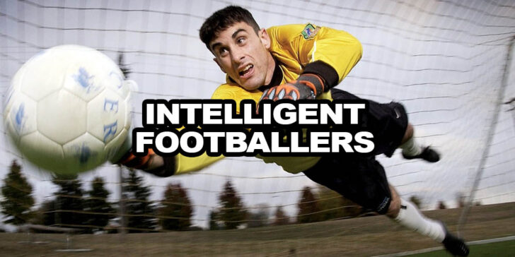 the most intelligent footballers