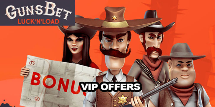 GunsBet Casino VIP offers