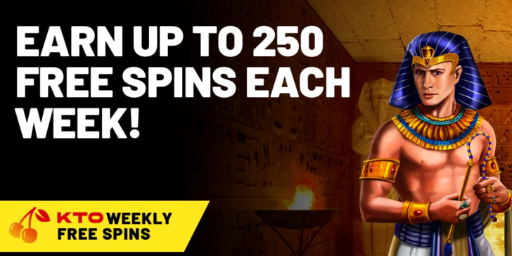 weekly free spin deals