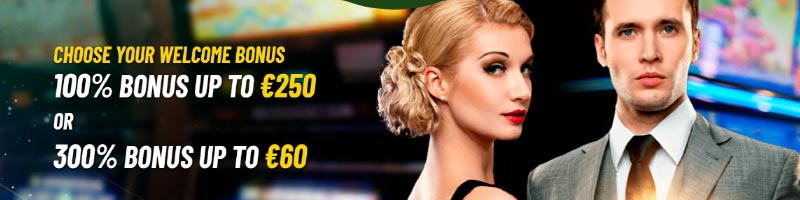 MaChance Casino Welcome Bonus, double your first deposit up to €250