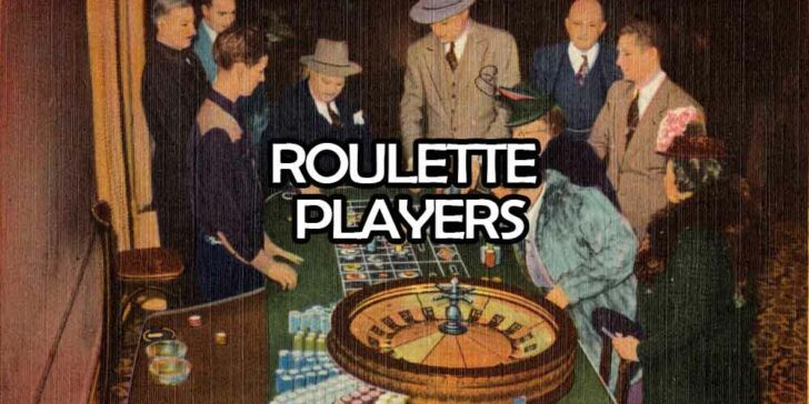 How roulette players behave
