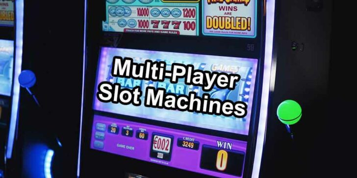 Multi-player slot machines