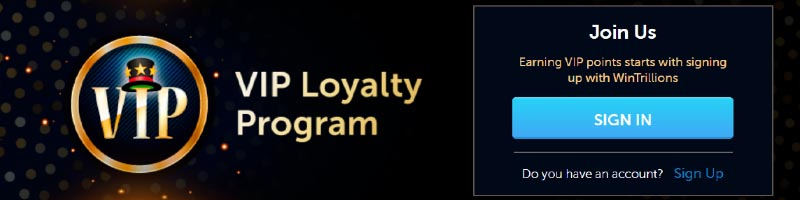 about WinTrillion Lottery VIP Loyalty Program
