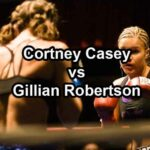 Bets on Cortney Casey vs Gillian Robertson – What are the odds for Casey?