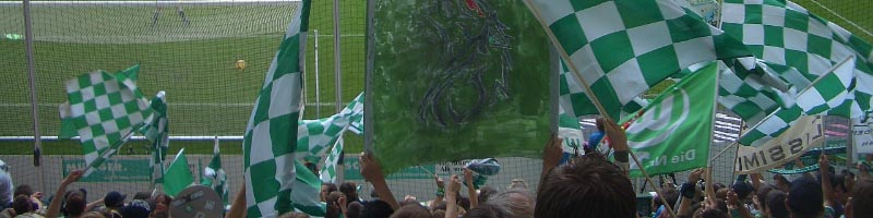 Wolfsburg fans during Bundesliga games
