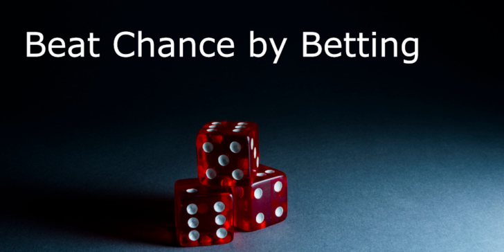 Hedgeing against uncertainty by betting on people.
